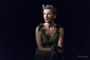 Aude Hapiot dans Yvette Guilbert, Il ne faut jamais se décourager